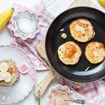 Bananen Pancakes klassisch - www.emmikochteinfach.de