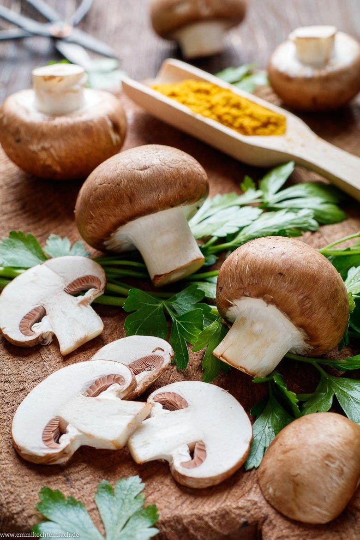 Die Pilze sind eine tolle Zutat - www.emmikochteinfach.de