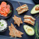 Leckeres Fingerfood mit Toast und Räucherlachs - www.emmikochteinfach.de
