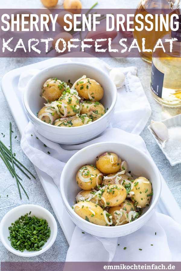 Salat mit Drillingskartoffeln und Schuss - www.emmikochteinfach.de