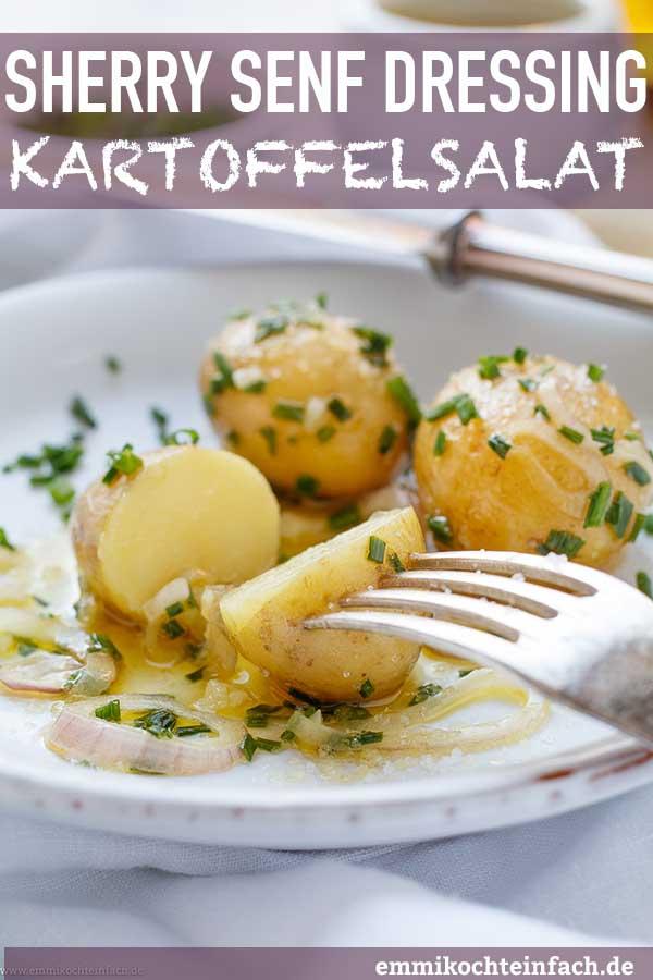 Kartoffelsalat mit Sherry Senf Dressing - www.emmikochteinfach.de