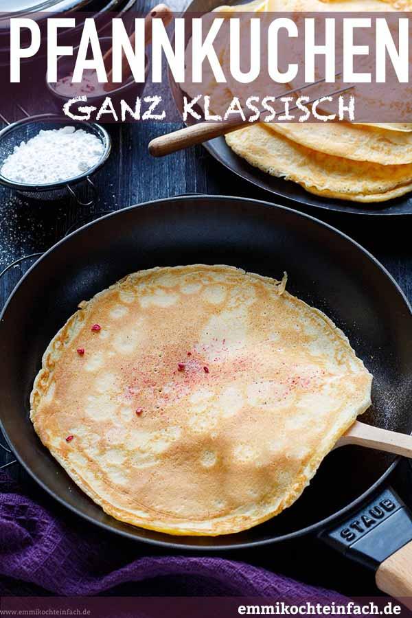 Emmis klassische Pfannkuchen - www.emmikochteinfach.de