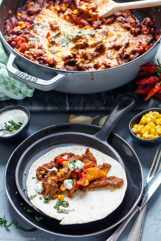 Tex Mex Steak Pfanne mit Gemüse - www.emmikochteinfach.de