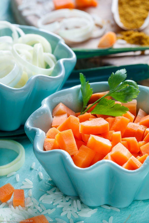 Vegetarisch lecker mit viel Lauch und Möhren - www.emmikochteinfach.de