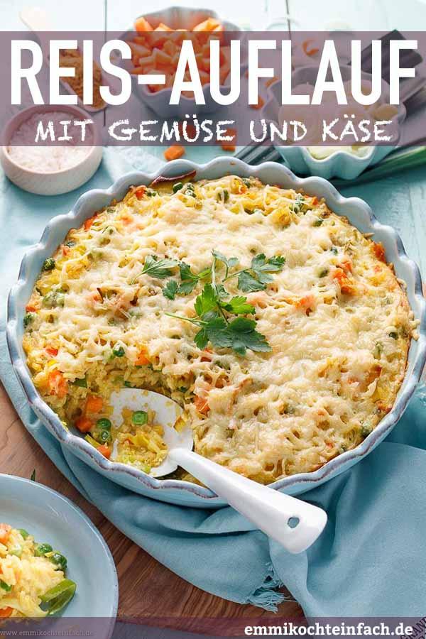 Ein vegetarisches Reisgericht aus dem Ofen - www.emmikochteinfach.de