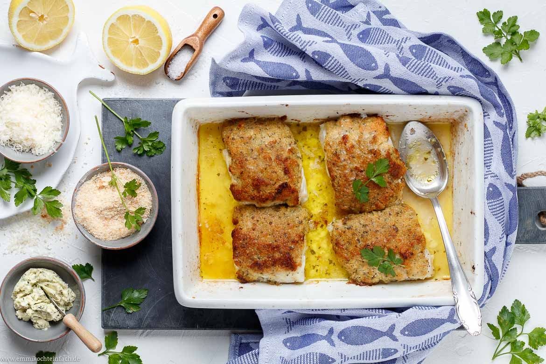 Schlemmerfilet a la Bordelaise - ein Ofen Fischfilet - www.emmikochteinfach.de
