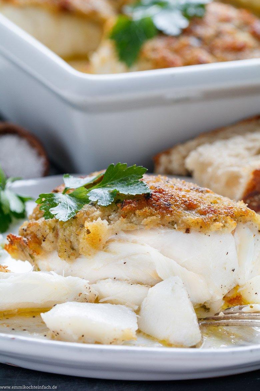 Leckeres Fischfilet aus dem Ofen ganz einfach gemacht - www.emmikochteinfach.de