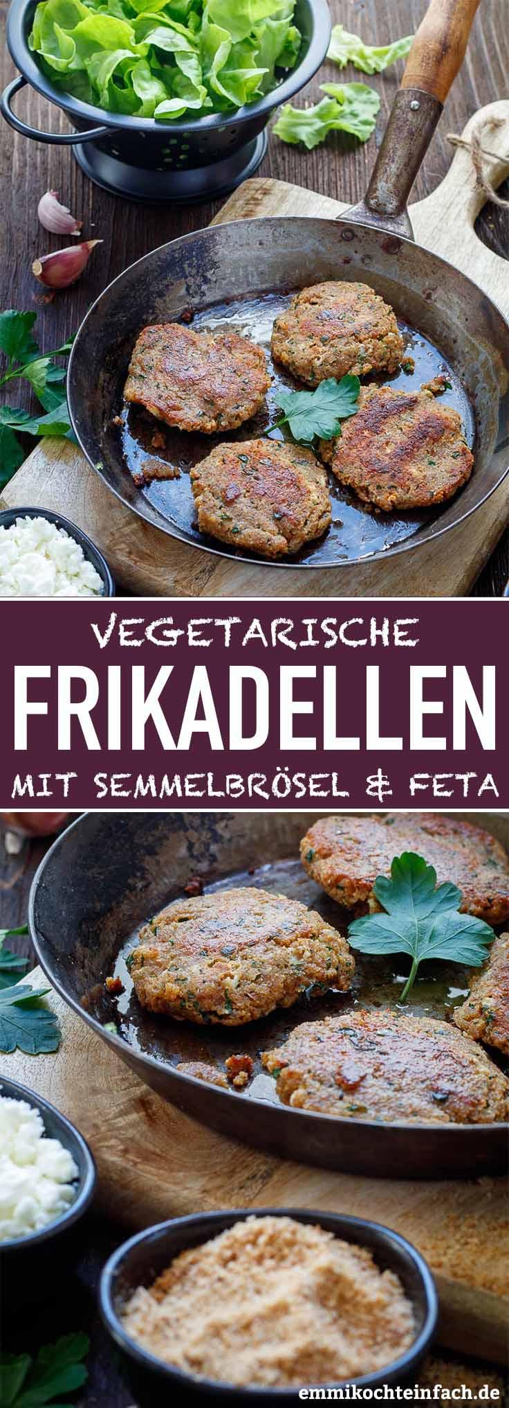 Semmelbrösel Frikadellen mit Feta - www.emmikochteinfach.de