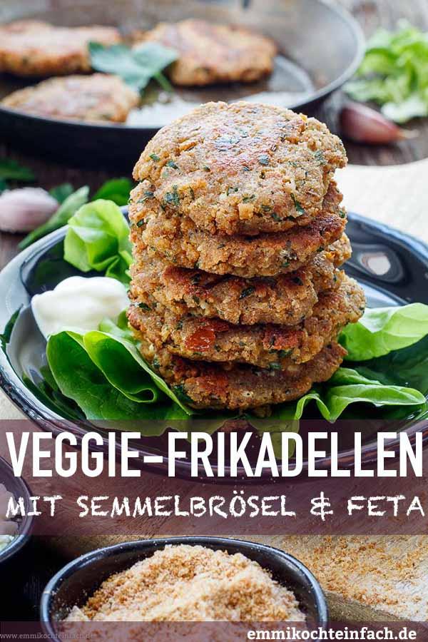 Veggie Frikkas ganz einfach gemacht - www.emmikochteinfach.de