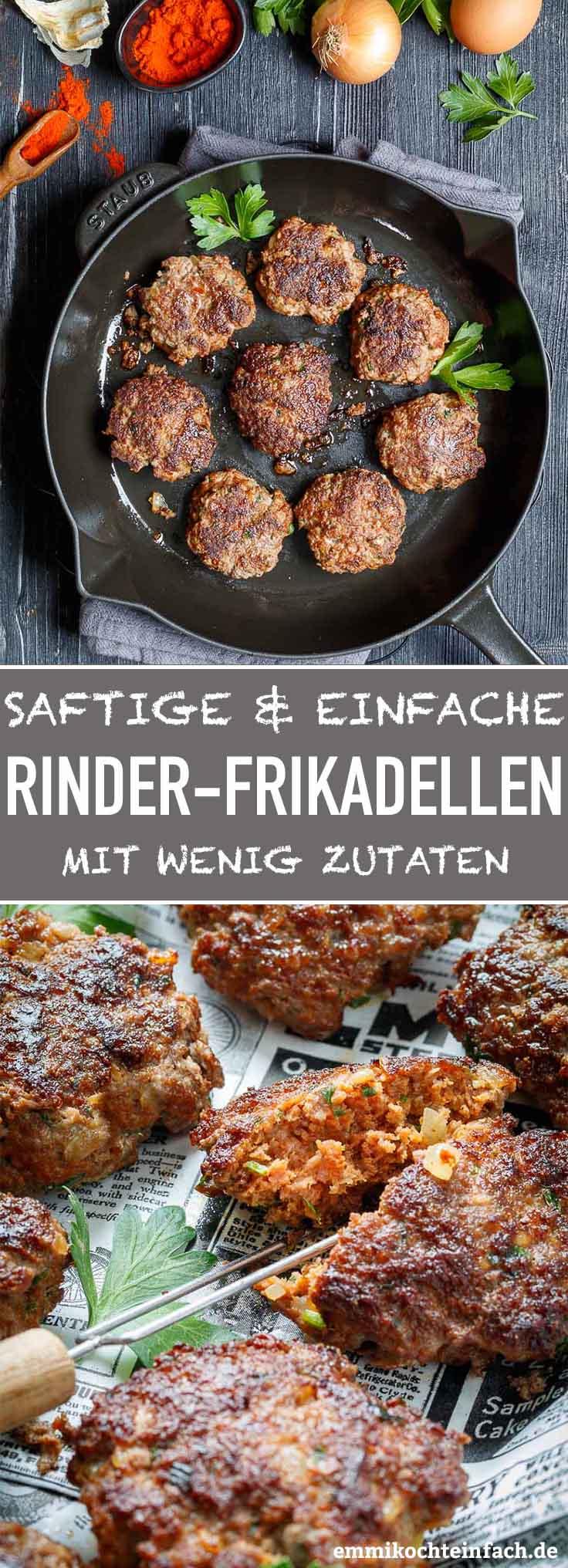 Mamas einfache Rinderfrikadellen - www.emmikochteinfach.de