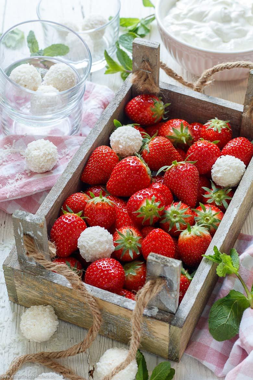 Beste Zutaten für eine leckere Erdbeervariation - www.emmikochteinfach.de