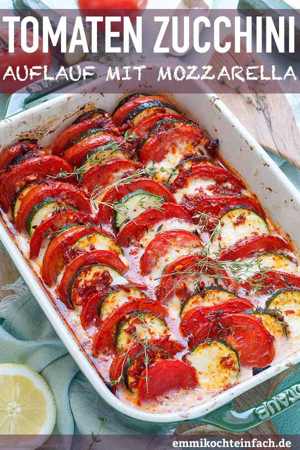 Sommerliches Gemüse aus dem Ofen - www.emmikochteinfach.de
