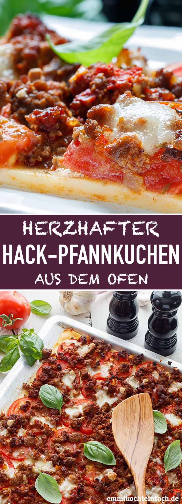 Herzhafter Pfannkuchen aus dem Ofen - www.emmikochteinfach.de