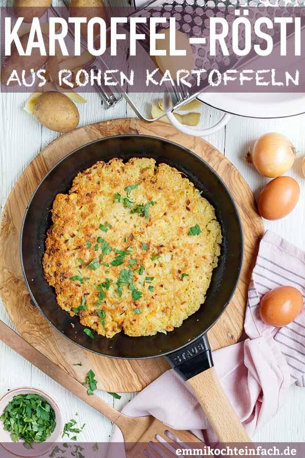 Die knusprige Kartoffelbeilage einfach gemacht - www.emmikochteinfach.de