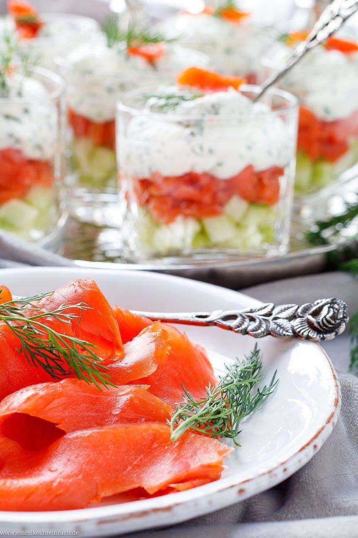 Lachs mit Frischkäse Creme im Glas - www.emmikochteinfach.de