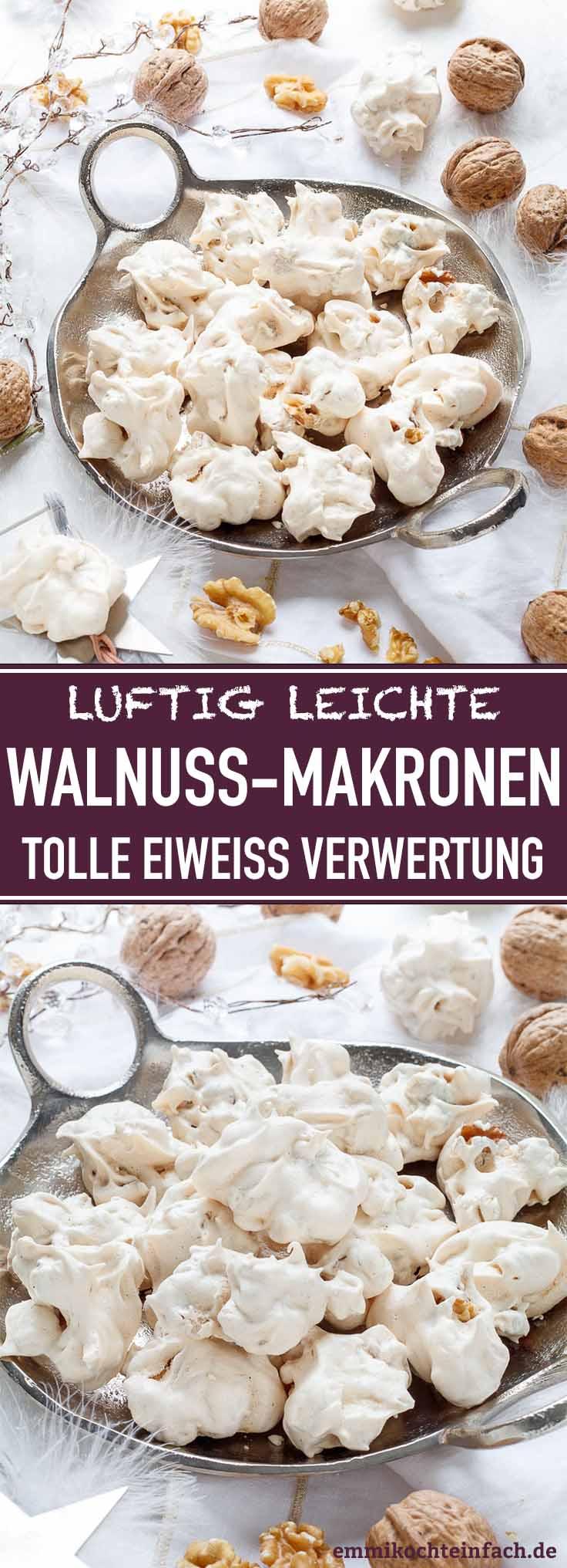 Walnussmakronen - www.emmikochteinfach.de