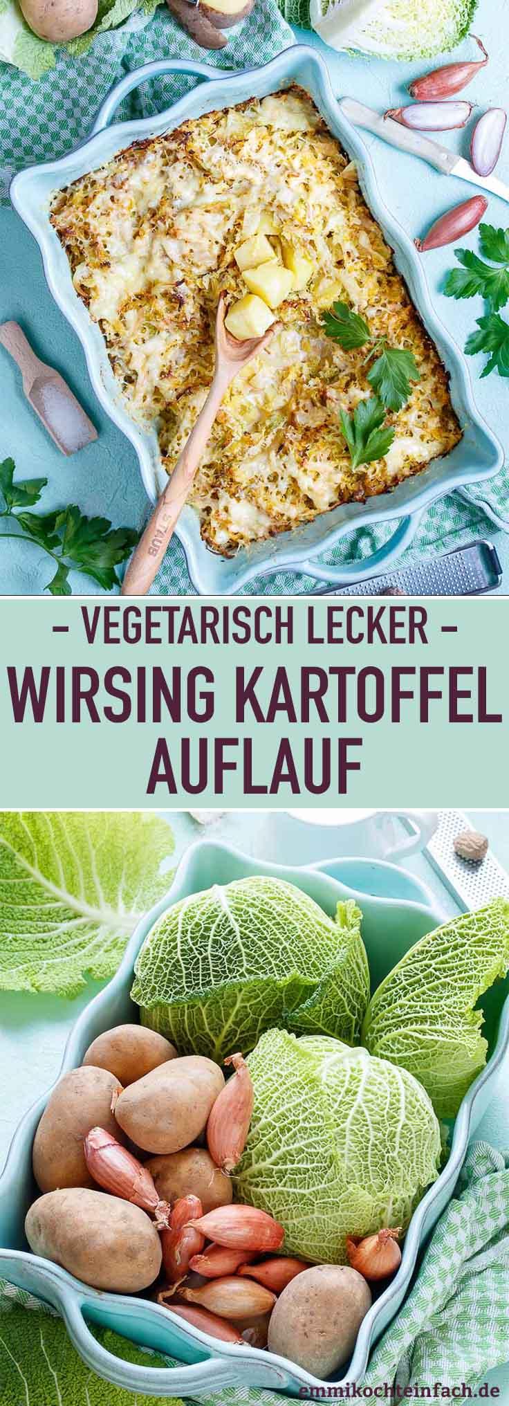 Wirsing Kartoffel Auflauf - www.emmikochteinfach.de