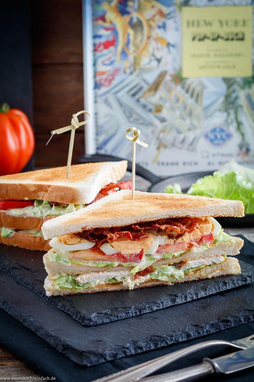 New York Club Sandwich - www.emmikochteinfach.de