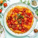 Tomaten Tarte Tatin - www.emmikochteinfach.de